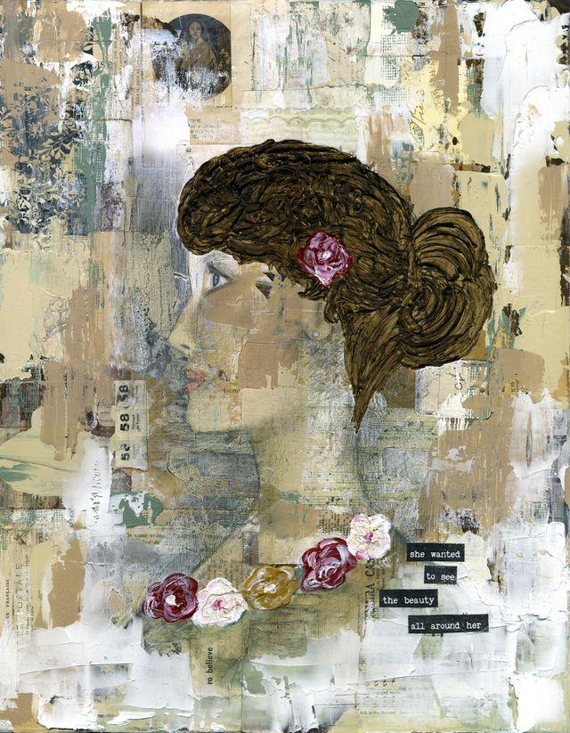 Profile Girl (Etsy)
